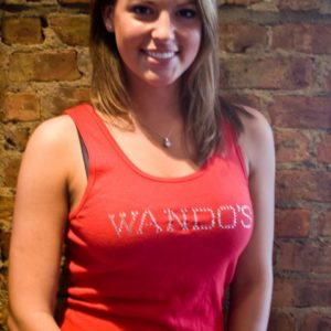 Wando's Women's Red Tanktop